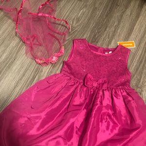 NWT| 5T Flower Girl Dress & Veil